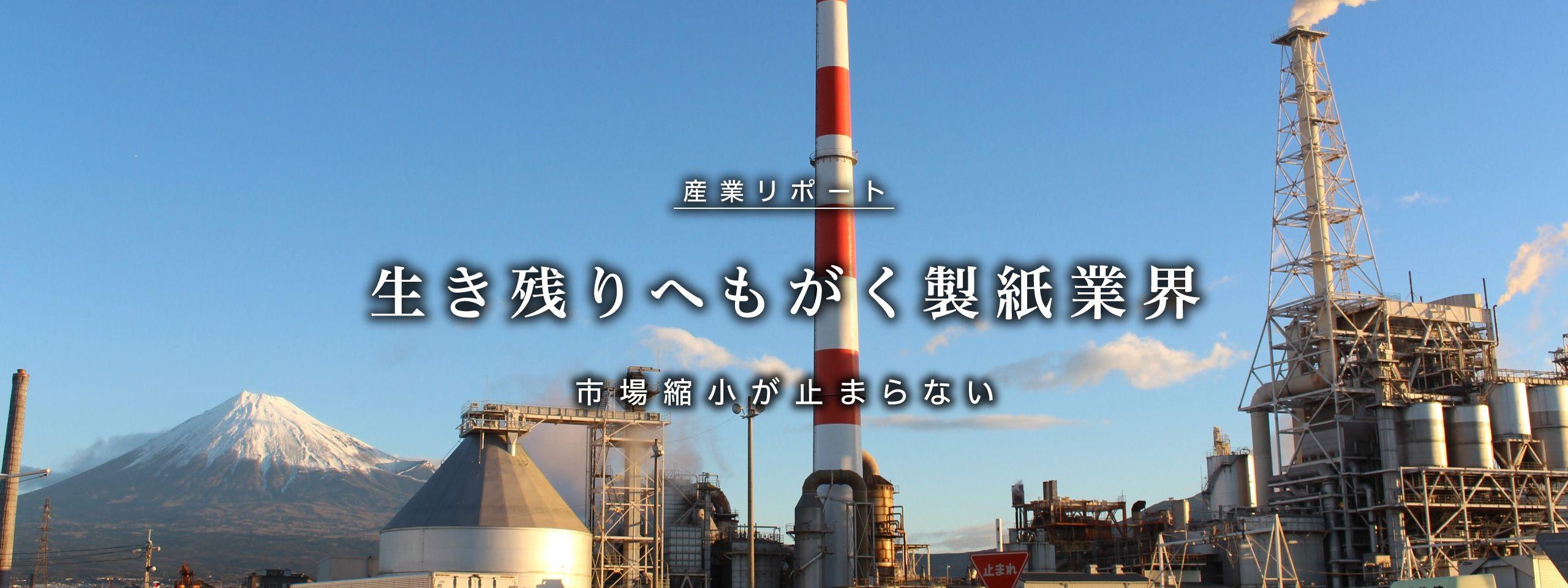 生き残りへもがく製紙業界 | 深層リポート | 週刊東洋経済プラス