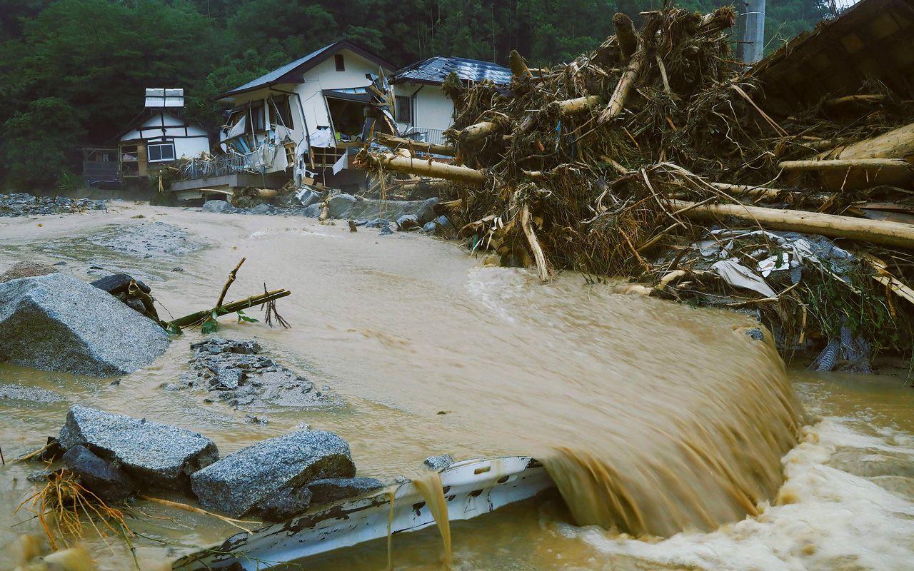 異常気象の真因を探る   集中豪雨や巨大台風   ニュース最前線   週刊 ...